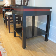 Lacquer Side Tables