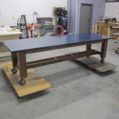 Walnut Lacquer Desk