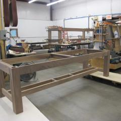 Walnut Table Base